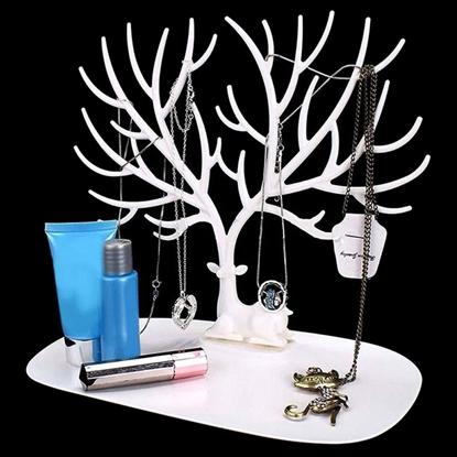Resim Geyik Misali Gümüş Takı Askısı