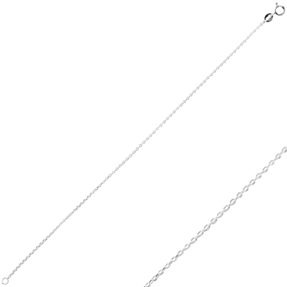 Resim 40 Mikron Tıraşlı Forse Gümüş Bayan Zincir Bileklik