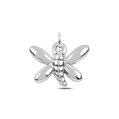Resim Yusufçuk Elektroform Gümüş Bayan Kolye Ucu