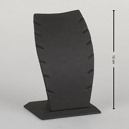 Resim 12cm Siyah Deri Hayalet Kolye Takı Standı