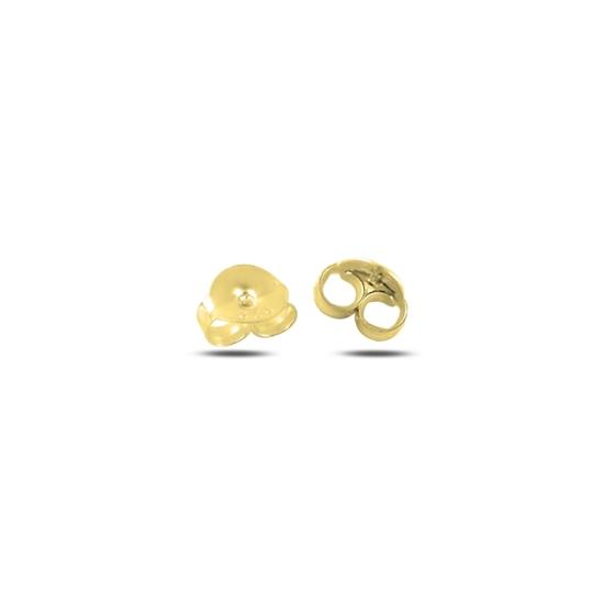 Ürün resmi: Altın Kaplama Klips (Gümüş Küpe Arkalığı)