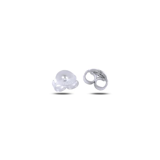 Ürün resmi: Rodyum Kaplama Klips (Gümüş Küpe Arkalığı)