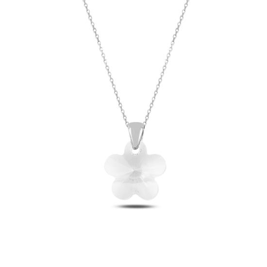 Ürün resmi: Papatya Gümüş Bayan Kolye