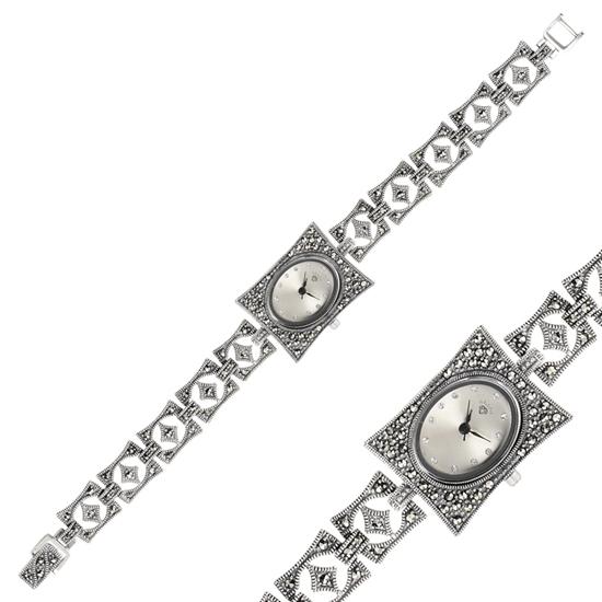 Ürün resmi: Markazit Taşlı Kol Saati