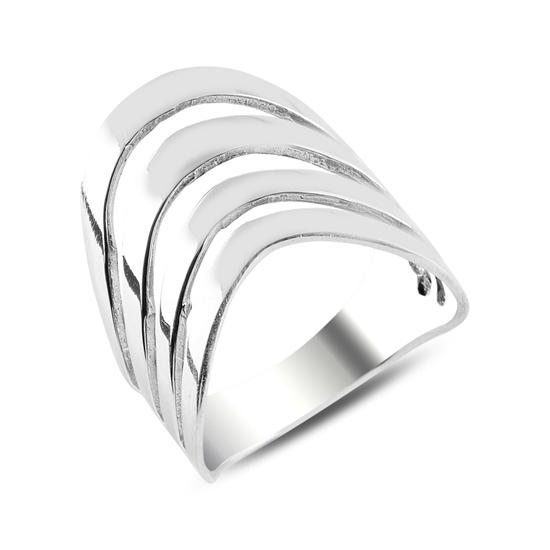 Ürün resmi: Taşsız Gümüş Bayan Yüzük