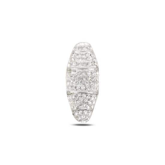 Ürün resmi: Kristal Taşlı Gümüş Bayan Kolye Ucu