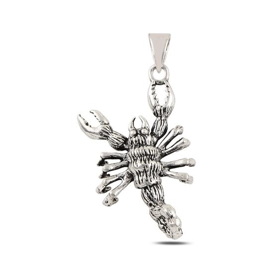 Ürün resmi: Akrep Taşsız Gümüş Bayan Kolye Ucu