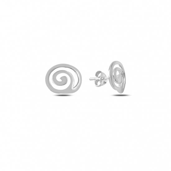 Ürün resmi: Taşsız Gümüş Küpe