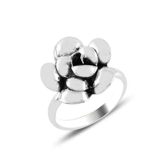 Ürün resmi: Gül Oksitli Gümüş Bayan Yüzük