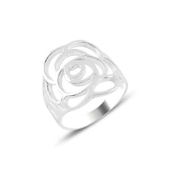 Ürün resmi: Gül Gümüş Bayan Yüzük