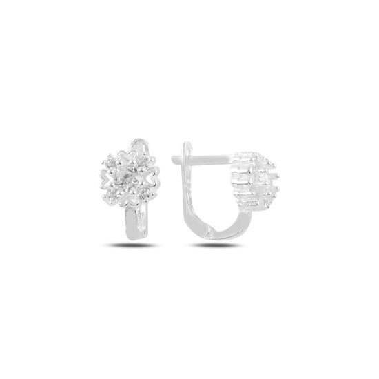 Ürün resmi: Zirkon Taşlı Gümüş Küpe